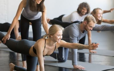 Groepsles Pilates